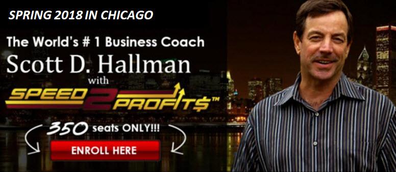 Chicago 2018 Event with Scott Hallman